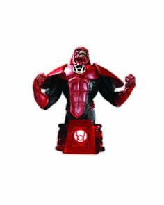 "DC Direct Heroes of the DC Universe: Blackest Night Red Lantern Atrocitus Bust by DC Direct. $49.99. Sculpted by Jean St. Jean. Limited edition. Measures approx. 6"" H x 5.5"" W x 5"" D. Hand-painted, cold-cast porcelain. Based on the art of Ivan Reis from DC Comics' epic Blackest Night event. Based on the art of Ivan Reis.  Sculpted by Jean St. Jean. The Blackest Night continues in mini-bust form. Each month in 2011, DC Direct releases a mini-bust featuring a character from..."