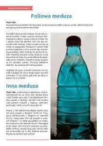 Światowy Dzień Oceanów – pakiet edukacyjny: Foliowa meduza Water Bottle, Drinks, Drinking, Beverages, Water Bottles, Drink, Beverage