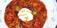 Kulørt, mexicansk chili con carne er en fryd for øjet.