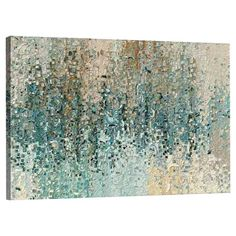 Perfect hanging above your living room sofa or adding an artful touch to the master suite, this canvas print showcases an abstract motif in a muted palette.