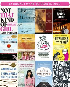 12 Books I Want to Read in 2015
