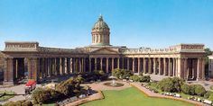 Kazan Cathedral, St. Petersburg, Russia (I got to sing in this cathedral with my college choir . . . magnificent.)