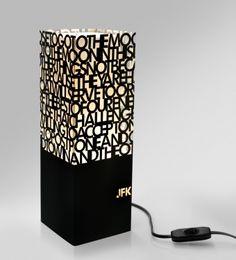 JF Kennedy SPEECH - lamp