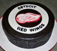 red wings wedding cake  | Sports Themed Weddings - Sports Themed Wedding Cakes