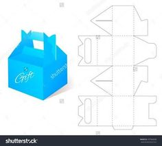 Cube Box Template No.02 | Free Box Templates Store | [ structures ...