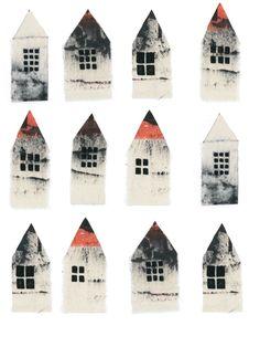 Ideas For House Simple Illustration Inspiration Art And Illustration, Illustration Inspiration, Illustrations Posters, Building Illustration, Grafik Design, Pics Art, Little Houses, Tiny Houses, Art Plastique