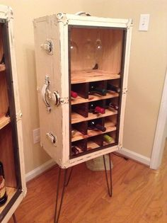 I came across this awesome upcycle the other day, where someone had gutted an old tube TV, and turned it into a display for their bar. As I was looking into similar upcycles, I found that people have gotten REEALLLLY creative when it comes to displaying and serving their favorite bevs. Can you …