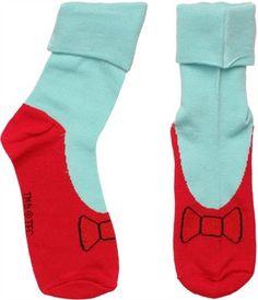 Wizard of Oz Dorothy Ruby Slipper Socks
