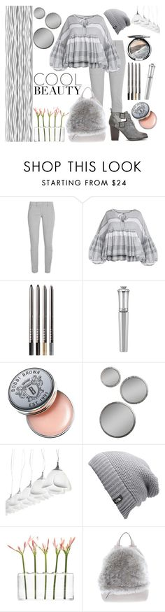 """""""Winter Cool"""" by giselsimon ❤ liked on Polyvore featuring DKNY, LORAC, Morgan Lane, Bobbi Brown Cosmetics, MyYour, The North Face, Dot & Bo and Brunello Cucinelli"""