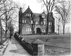 Cleveland Area History: Mr. David Norton owned the next residence that sat at 7301 Euclid Avenue. Charles Schweinfurth designed this structure as well. Mr. Norton was a banker and a partner of the iron-ore company Oglebay Norton Company.