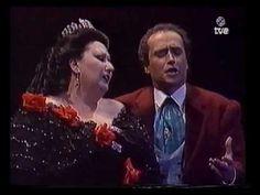 M. Caballe & J. Carreras -El duo de la africana-