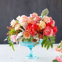 Swooned: Romantic Centerpiece Tutorial from Tulipina