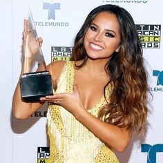 """7,543 Likes, 62 Comments - Alejandra (@iammamagiampapag) on Instagram: """"She took one home last night!!  Latin American Music Awards. So proud of you B """""""