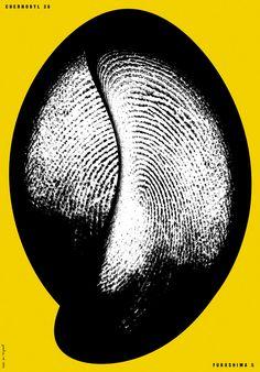 Minsk's Jouri Toreev's unusual abstract graphic design work