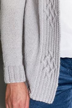 Knitting Stiches, Cable Knitting, Knitting Patterns, Knitwear Fashion, Knit Fashion, Knit Vest Pattern, Knit Art, Flirt, Alpaca Wool