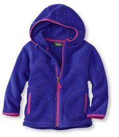 #LLBean: Infants' and Toddlers' Trail Model Fleece Hooded Jacket $50