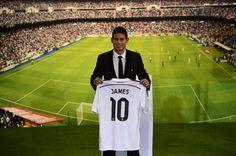 Así fue la presentación de James Rodríguez en el Real Madrid
