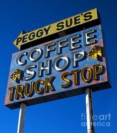 Classic Neon, I've actually been to Peggy Sue's.