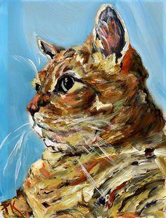 Mango, (Acrylic, 5 x Mango, Pets, Painting, Manga, Animals And Pets, Painting Art, Paintings, Paint, Draw