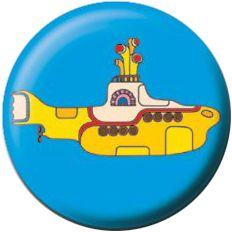 The Beatles: Yellow Submarine (25mm Pin Button Badge)