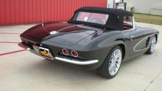 1961 Chevrolet Corvette Resto Mod | S154 | Dallas 2012 2012 Corvette, Chevrolet Corvette, 6 Speed Transmission, Vintage Air, Aluminum Radiator, Wheels And Tires, Convertible, Dallas, Auction