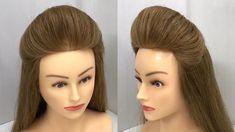Indian Bun Hairstyles, Puff Hairstyle, Clip Hairstyles, Hair Puff, Bun Hairstyles For Long Hair, Pixie Hairstyles, Bride Hairstyles, Hair Style Vedio, Front Hair Styles