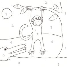 18 fun color-by-number pages, printables and more indoor fun for your little monkeys if they don't want to go out in the cold! http://www.parents.com/fun/printables/coloring-pages/color-by-number-printable-coloring-pages/?socsrc=pmmpin112812wwfColoringPrintables