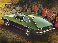 Ford Pinto. My sister's first car was a Pinto and this color,