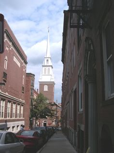 Old North Church, Boston, Mass.