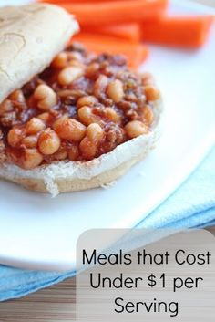 Meals that Cost Under $1 per Serving! ~ New on Blinkie.com/Blog