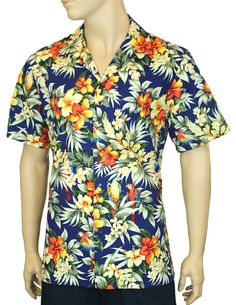 6cfd0d53 Check out the deal on Beach Parrots Aloha Shirt at Shaka Time Hawaii  Clothing Store Free