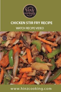 5 minutes recipe of Chicken Stir Fry with Vegetables. Simple, easy and healthy stir fry that can quickly make in your home kitchen. Veg Recipes Video, Healthy Veg Recipes, Veg Recipes Of India, Stir Fry Recipes, Indian Food Recipes, Vegetarian Recipes, Cooking Recipes, Easy Recipes, Pakistani Rice Recipes