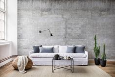 Wall mural R15001 Wooden Concrete
