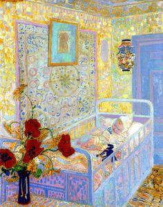 Sluijters, Jan (Dutch, 1881-1957) -Children's Room