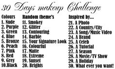 30 Day Make-up Challenge | Beauty Before Breakfast Sep 2014 Twitter: @1thaliamartinez