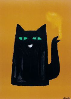 Illustartion by Julian Key, 1960, ohne Worte.