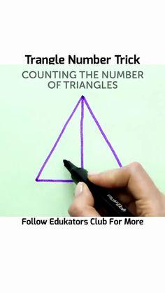 Cool Math Tricks, Maths Tricks, Geometry Formulas, Math Formulas, Fun Math, Math Activities, Mathematics Online, Number Tricks, Learn Math Online