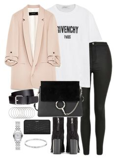 """Untitled #3515"" by theeuropeancloset on Polyvore featuring Topshop, Givenchy, Chloé, rag & bone, H&M, Melissa Joy Manning, Yves Saint Laurent, Gucci and Marc by Marc Jacobs"