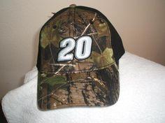 Tony Stewart #20 Camo/Black Ball cap, new w/tags w/free shipping