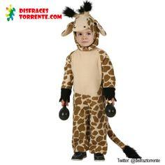 En el Zoo de los carnavales no puede faltar este divertido disfraz de Jirafa. Un original disfraz de Jirafa que es muy fácil de poner y de l...