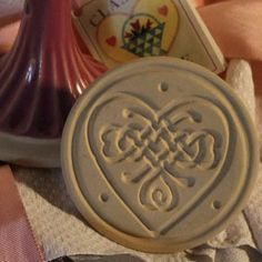 Our Celtic Heart Cookie Stamp is part of our Cookie Stamps Pottery Collection. This Celtic Heart Cookie Stamp features a traditional knotwork design. Cookie Stamp, Cookie Cutters, Celtic Food, Scottish Festival, Celtic Heart, Baking Accessories, Cupcake Frosting, Heart Cookies, Vintage Cookies