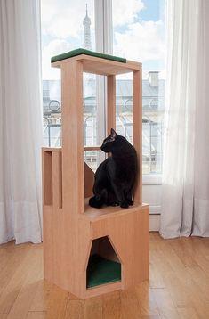 Coup de coeur pour ces superbes arbres à chats made in France !