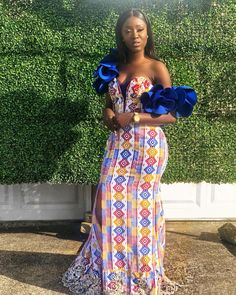 Kente Outfits For Cute Couples And Lovers - Sisi Couture African Print Dresses, African Dresses For Women, African Print Fashion, Africa Fashion, African Attire, African Wear, African Fashion Dresses, African Prints, African Style
