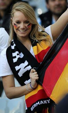 Beautiful German fan