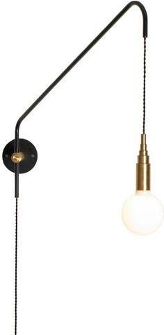 Les appliques qui se montrent - TRAITS D'CO Magazine Cool Lighting, Modern Lighting, Lighting Design, Deco Luminaire, Luminaire Design, Lamp Light, Light Up, Wall Light Fittings, Lampe Decoration