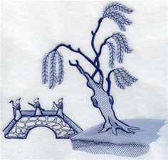 Machine Embroidery Designs at Embroidery Library! - Blue Willow