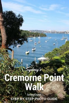 Take a ferry from Circular Quay and less than 15 mins later you will be exploring this magical harbour track.