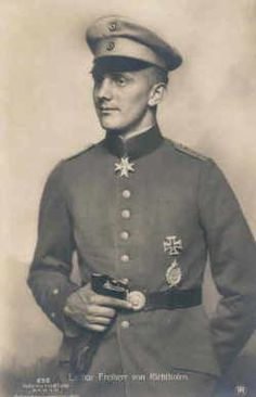 Forever fated to be known as the Red Baron's younger brother, Lothar von Richthofen was a great ace in his own right, downing forty Allied planes