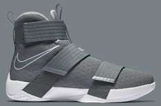 wholesale dealer 5bd58 35345 Nike LeBron Soldier 10 Cool Grey (2) Hombres, Zapatos Hombre Casual,  Zapatillas