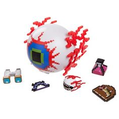 Terraria Toys are at Target. Great to use as Terraria Party Decorations. Eye of Cthulhu.